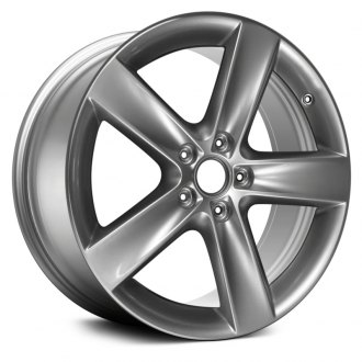 "Replace® - 18"" Remanufactured 5 Spokes Hyper Silver Factory Alloy Wheel"