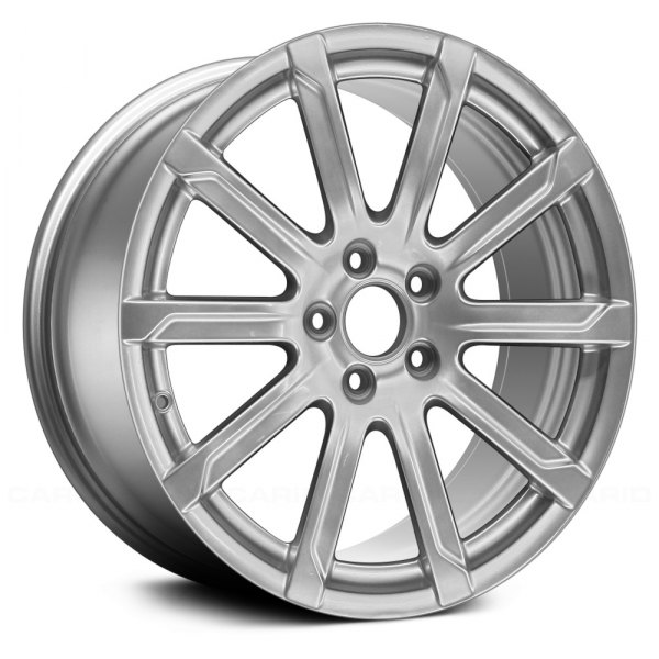 "Replace® - 18"" Remanufactured 10 Spokes Bright Hyper Silver Face Factory Alloy Wheel"