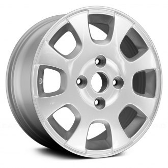 "Replace® - 15"" Remanufactured 8 Spokes Bright Sparkle Silver Face Factory Alloy Wheel"