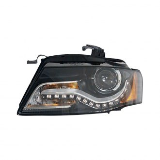 2009 Audi A4 Custom Factory Headlights Caridcom