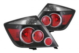 Replace® - Black Factory Tail Lights