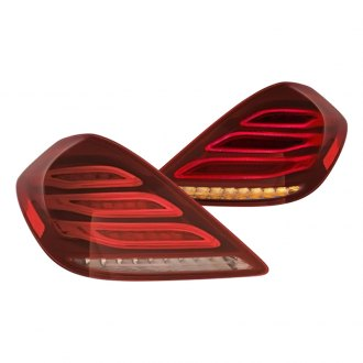 Replace® - Black Fiber Optic Tail Lights