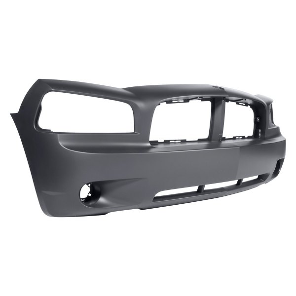 Bumper Cover For 2006-2010 Dodge Charger Rear Primed w// License Plate Provision