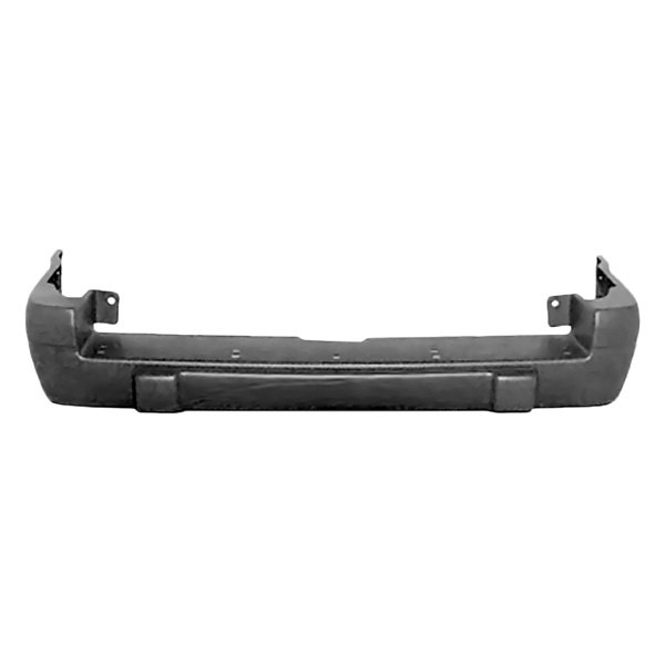 NEW REAR BUMPER COVER TEXTURED GRAY FITS 1996-1998 JEEP GRAND CHEROKEE 5DP65SS5