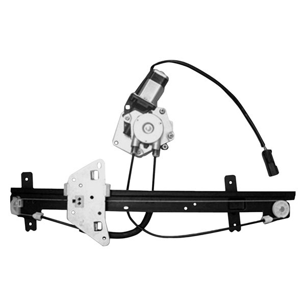 Replace® - Front Driver Side Power Window Regulator and Motor Assembly