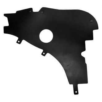 Replace® - Driver Side Upper Radiator Support Cover