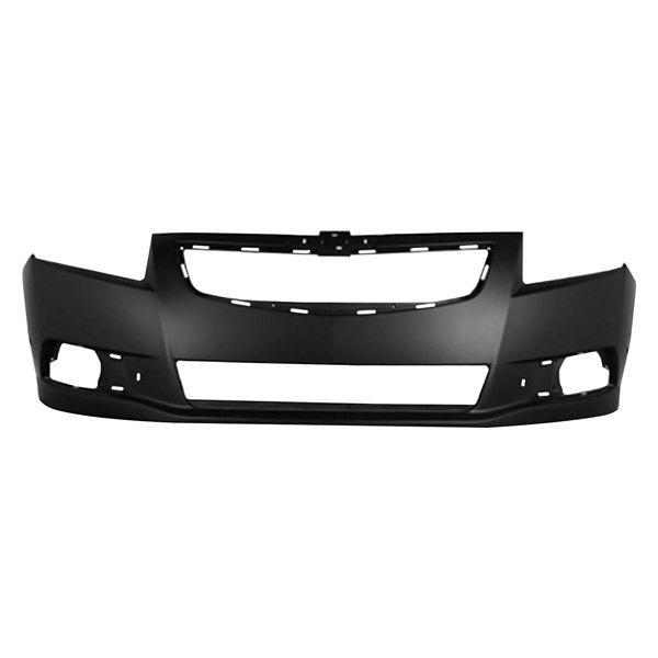 Crash Parts Plus Primed Front Bumper Cover Replacement for 1997-2000 BMW 5 Series