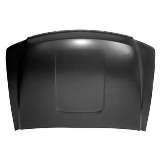 Crash Parts Plus Plastic Direct Fit Black Hood Molding for GMC Sierra GM1235110