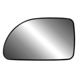 Replace® - Driver Side Mirror Glass with Backing Plate (Non-Heated)