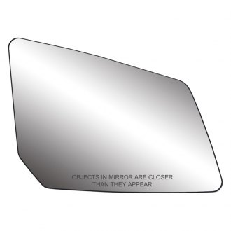Replace® - Passenger Side Mirror Glass with Backing Plate (Heated)