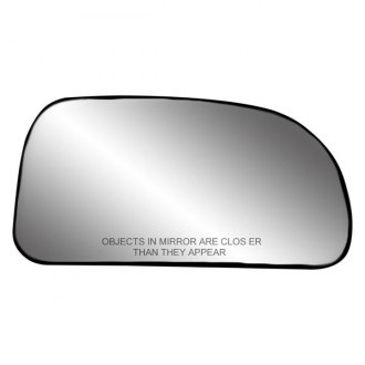 Replace® - Passenger Side Mirror Glass with Backing Plate (Non-Heated)