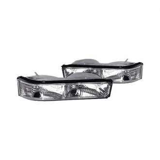Replace® - Diamond Cut Chrome Turn Signal/Parking Lights