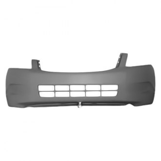 Bumper Cover For 2008-2012 Honda Accord Sedan Rear Primed w// Dual Exhaust Holes