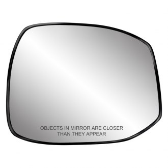 Replace®   Passenger Side Mirror Glass With Backing Plate (Heated)