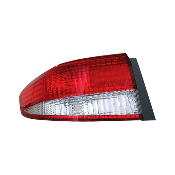 Replace® - Driver Side Outer Replacement Tail Light Lens and Housing, Honda Accord