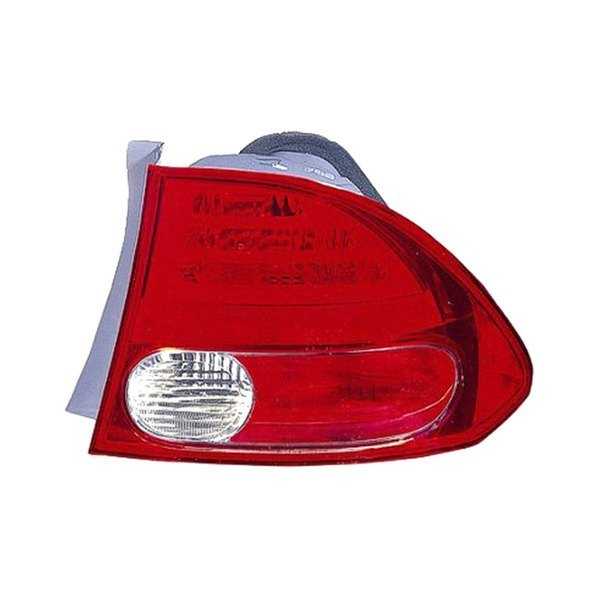 Replace® - Passenger Side Outer Replacement Tail Light, Honda Civic