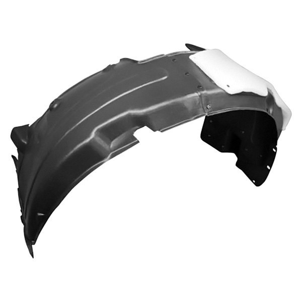 378-44380-12 TO1249115 5387552012 Passenger Side Front Fender Liner Splash Shield New Replacement Right CarPartsDepot