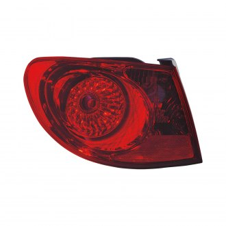 Replace® - Driver Side Outer Replacement Tail Light (Remanufactured OE)