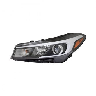 Replace Ki2502201r Driver Side Replacement Headlight