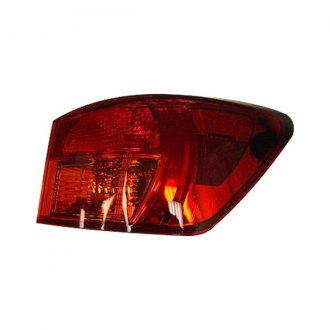 Replace® - Passenger Side Outer Replacement Tail Light Lens and Housing (Brand New OE)