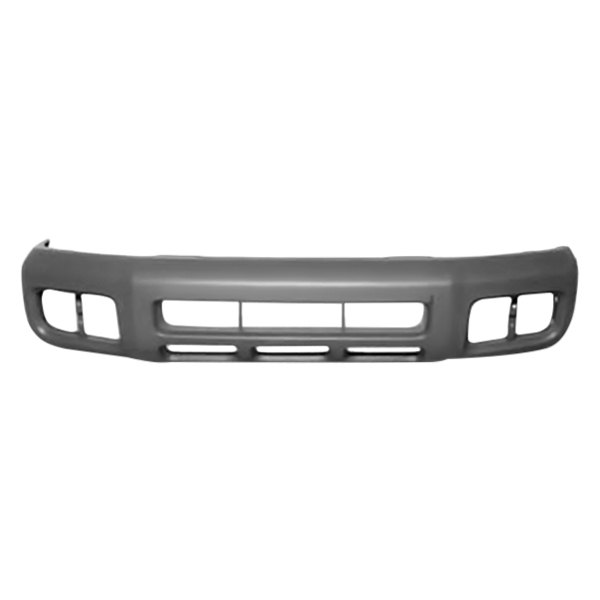 Replace Nissan Pathfinder Without Park Assist Sensors Without Tow Hook With Fog Lights 2003 Front Bumper Cover