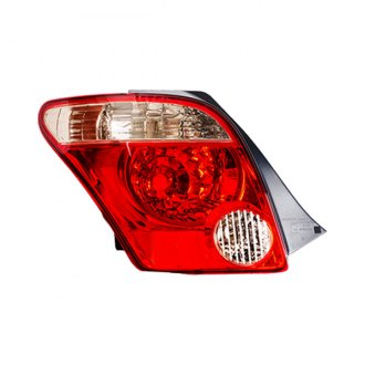 Replace® - Driver Side Replacement Tail Light Lens and Housing (Brand New OE)