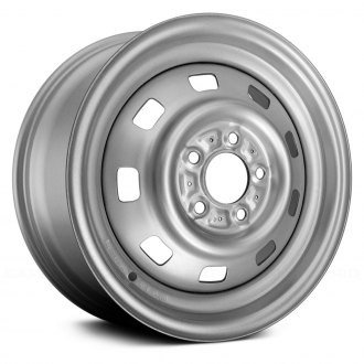 "Replace® - 15"" 9-Hole Silver Factory Steel Wheel (Remanufactured)"