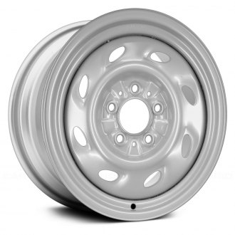 "Replace® - 15"" Remanufactured 8 Holes Silver Factory Steel Wheel"