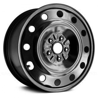 "Replace® - 17"" Remanufactured Black Factory Steel Wheel"