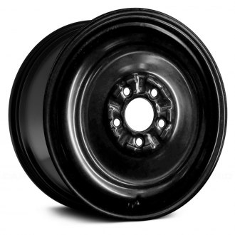 Replace 16x4 Black Steel Factory Wheel Remanufactured