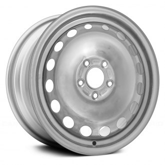 "Replace® STL03974U20 - 16"" Remanufactured 16 Holes Silver Factory Steel Wheel"