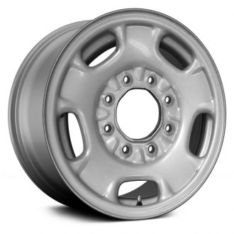 "Replace® - 16"" 5 Spokes Silver Factory Steel Wheel"