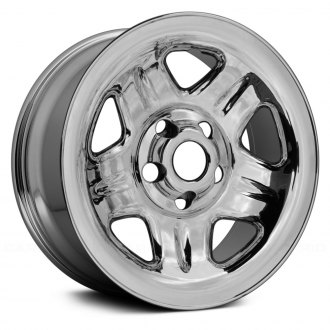 "Replace® - 15"" 5-Spoke Chrome Factory Steel Wheel (Remanufactured)"