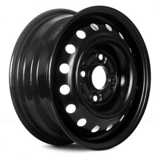 "Replace® - 14"" Remanufactured 16 Holes Black Factory Steel Wheel"