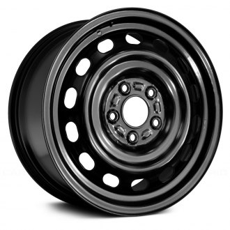 "Replace® - 16"" Replica 14 Holes Black Factory Steel Wheel"