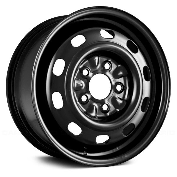 "Replace® - 15"" Remanufactured Black Factory Steel Wheel"