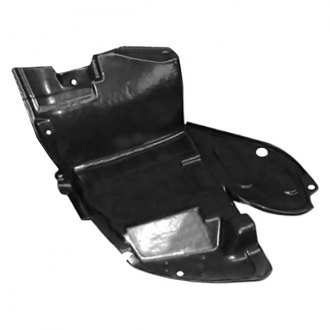 Replace® - Front Passenger Side Fender Liner Front Section