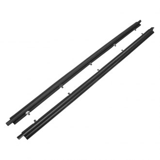 Replace® - Driver and Passenger Side Outer Door Window Belt Weatherstrip Kit