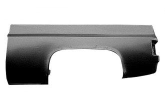 Replace® GM1756102 - Left Truck Bed Panel (With Square Fuel Hole)