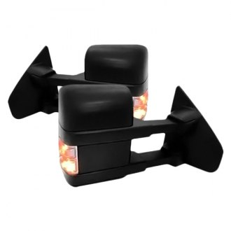 Replace® - Pro EFX™ Driver and Passenger Side Power Towing Mirrors (Heated, Foldaway)