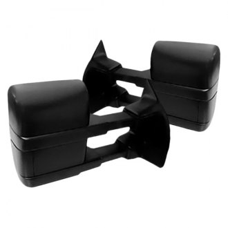 Replace® - Pro EFX™ Driver and Passenger Side Power Towing Mirrors (Non-Heated, Foldaway)