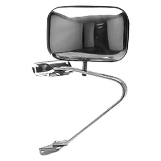 Replace® - Passenger Side Chrome Manual Mirror