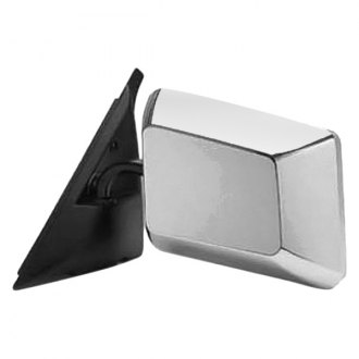 Replace® - Driver Side Below Eyeline Manual View Mirror (Non-Heated, Foldaway)