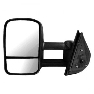 Replace® - Driver Side Manual Towing Mirror (Non-Heated, Foldaway)