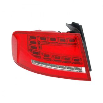 Replace® - Chrome/Red LED Tail Light
