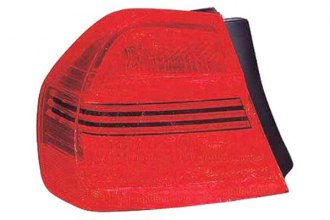 Replace® BM2800119 - Driver Side Outer Replacement Tail Light Lens and Housing