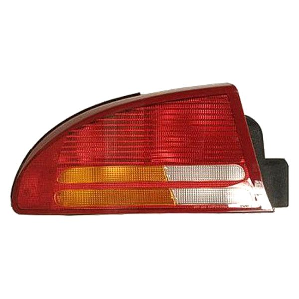 Replace® - Driver Side Replacement Tail Light Lens and Housing