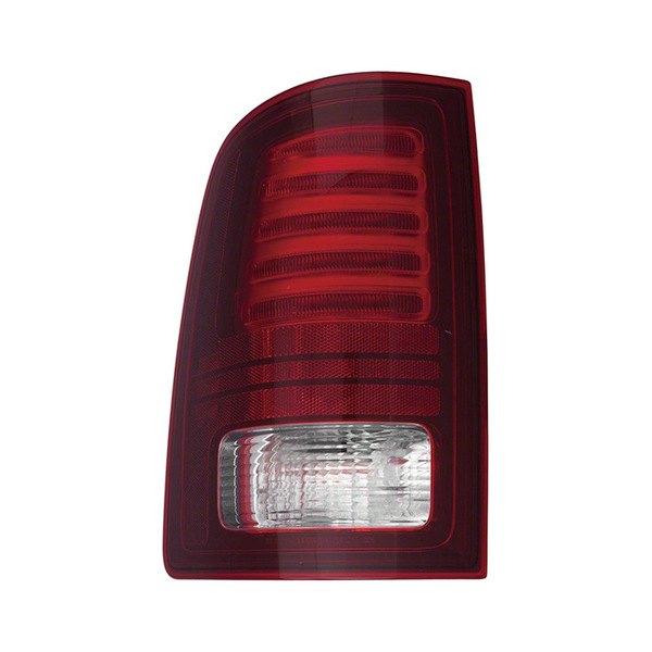 Replace Dodge Ram 1500 2014 Chrome Red Led Tail Light