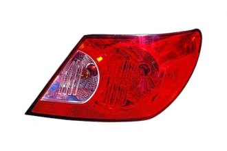 Replace® CH2801176C - Passenger Side Outer Replacement Tail Light Lens and Housing