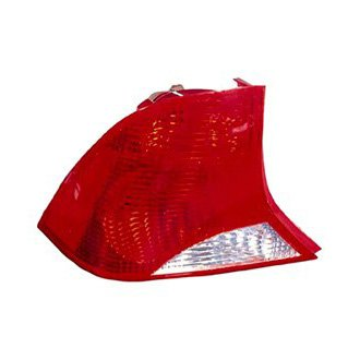Replace® - Driver Side Replacement Tail Light Lens and Housing (Remanufactured OE)